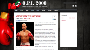 Forza e Coraggio Boxe Milano - OPI 2000