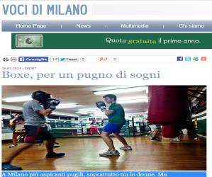 Forza e Coraggio Boxe Milano - Voci di Milano