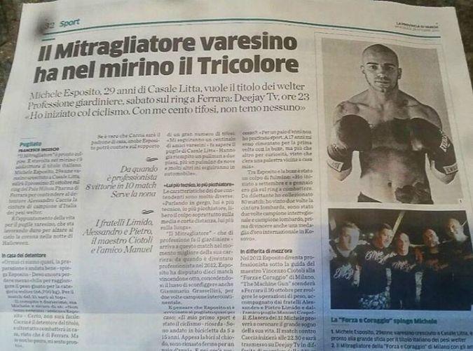 Michele Esposito La provincia di Varese